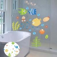 DIY Fish Wall Stiker Dinding dengan Bahan PVC Mudah Dilepas dan