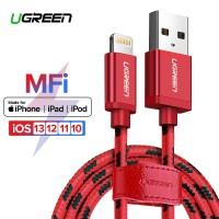 Ugreen MFI Kabel Data / Charger Lightning 24 Jam Ke USB 2.4A Untuk