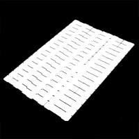 6Pcs Plastik DIY Grid Drawer Kebutuhan Rumah Tangga Divider Storage