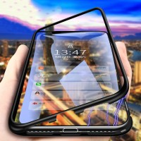 Magnetic Adsorption Metal Case For Samsung A20e A10 A20 A30 A40 A50