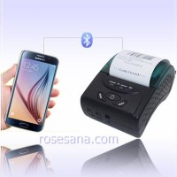 ZJ-5807 Mini Portable Bluetooth Thermal Receipt Printer Black Col