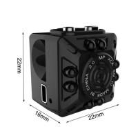 SQ10 Kamera Pengintai Mini Full HD 1080P Night Vision Camcorder DV