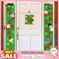 GA_ 3Pcs Gantungan Pintu Tun Merry Christmas untuk Ornamen