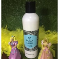 Fijian water lotus body lotion the body shop 250ml/ bodu lotion the