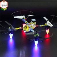 4 Channel RC Drone Mini Headless Mode Helicopter 2.4G 6-Axis Gyro