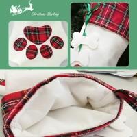 Kaos Kaki Natal untuk Anak Anjing
