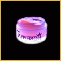 Pomade Ritjhson Glow In The Dark Purple Free Sisir Saku
