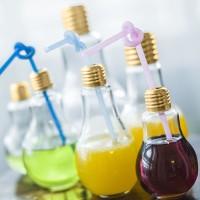 Botol Minum Bentuk Lampu Bohlam Anti Bocor