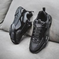 Sneakers Kasual Pria Sepatu Olahraga Tinggi Skechers Style
