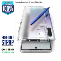 Ringke Samsung Galaxy Note 10+ Fusion Matte Clear Softcase Anti Crack