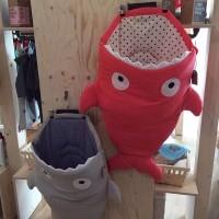 Sleeping Bag / Selimut Bayi Bentuk Ikan Hiu 7 Warna untuk Stroller /