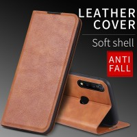 Magnetic Flip Leather Case for Samsung Galaxy A20 A30 A30S Phone Back