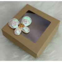 Kotak / Box / Dus Mika/Kotak Souvenir/Packaging 10x10x4 cm