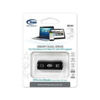 Card Reader Memory Card MicroSD Micro SD & OTG Team M141 USB Murah