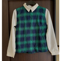 CLEARANCE!!! Flanel Blouse Long Sleeve Office Look