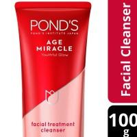 Ponds Age Miracle Facial Foam Sabun Muka Pembersih Wajah Youthful Glow