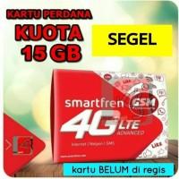 kartu perdana internet smartfren 15gb kuota 13gb + data 2gb 13 15 gb