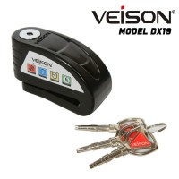 Kunci Disc / Cakram / Disc Lock Veison DX19 + Alarm