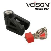 Kunci Disc / Cakram / Disc Lock Veison DX 7