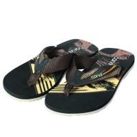 Carvil Sandal Pria NANO-M BLACK/BROWN