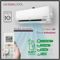 AC 1/2 PK LG E06SV4 DUAL INVERTER THINQ WATT CONTROL