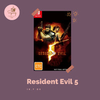 Resident Evil 5 RE Biohazard Nintendo Switch Digital Download
