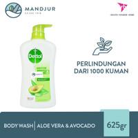 Sabun Mandi Cair Dettol Aloe Vera & Avocado 625 Gram