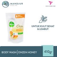 Sabun Mandi Cair Dettol Onzen Honey 410 Gram