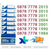 Perdana XL 4G Nomor Cantik XL abab 000 4G 087 887 2002 2009 2006
