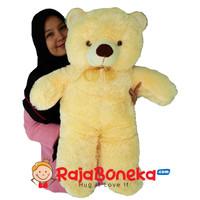 Boneka Beruang Teddy Bear Jumbo Cream 80cm - Ivory