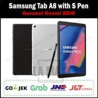 Samsung Galaxy Tab A 8 Tab A8 with S Pen 2019 3/32GB Garansi SEIN - Hitam