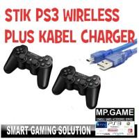 Stik stick PS3 Ori Pabrik Bonul Kabel usb wireless Bestseller