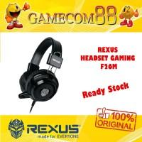 Rexus Headset Gaming F26M Single Jack