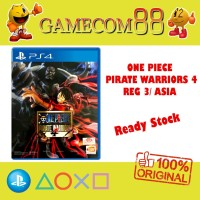 One Piece Pirate Warriors 4 Game PS4 Reg 3 Asia