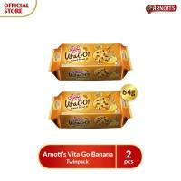 Arnotts Vita Go Banana - Twinpack
