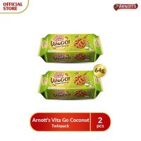 Arnotts Vita Go Coconut - Twinpack