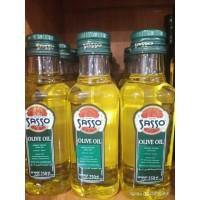 minyak zaitun sasso / olive oil 250 ml makassar