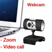 Webcam Built In Mic with Light / Webcam Zoom Video Call