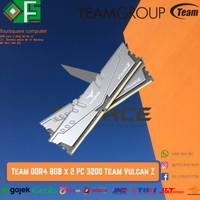 Ram DDR4 16GB ( 8GBx2) PC 3200 / 25600 ) Team Vulcan Z / 8GB x 2