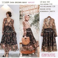 Catherine Brown Maxi Dress Import 11160