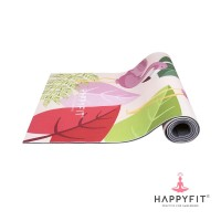 HAPPYFIT YOGAMAT PVC FLAMINGO 5MM PINK