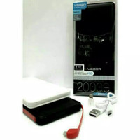 Powerbank Veger 20000 MAH Original Tambah Daya HP Tablet