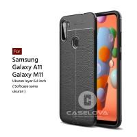 TPU Case Autofocus Leather Samsung Galaxy A11 M11