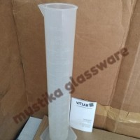 BEST SELLER Gelas Ukur Plastik/Cylinder Measuring PP, Cap. 500 ml,