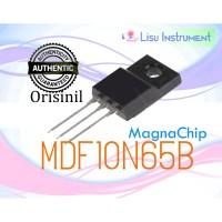 ORIGINAL MDF10N65B MDF10N65 N-Channel MOSFET 650V 10A TO-220F MagnaChi