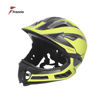 FRAZZIO FR-318K Kid Bike Full Face 2 in 1 Helmet - Helm Sepeda YELLOW