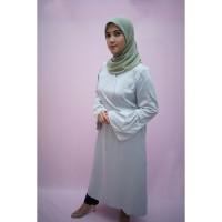 tunik cantik | busana muslim wanita A008 | Hijau polos