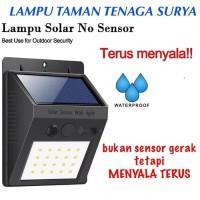 Lampu Taman Tenaga Surya Sensor Matahari Outdoor 20 LED - Lampu Tembok