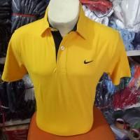 BIG SIzE !!! Kaos kerah nike kuning / polo shirt