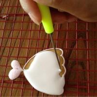20CM Pointed nozzle Needle Cake Decorating Tool Marking Icing Sugar - 12CM